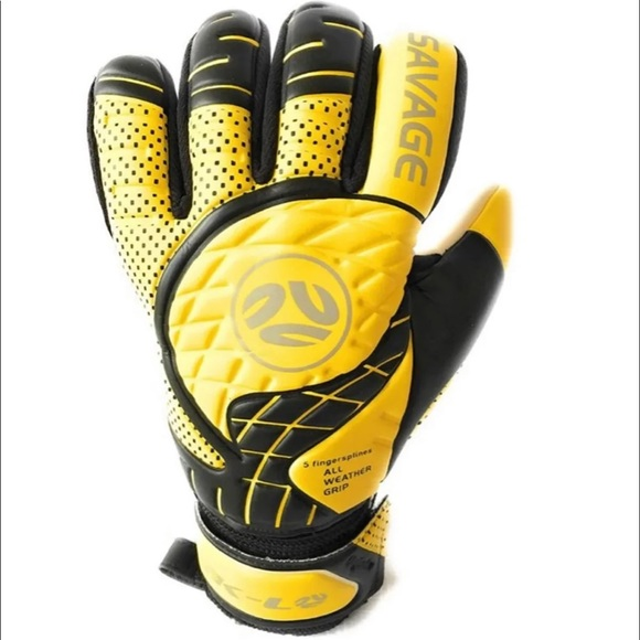 YOUTH ADULTS Soccer Goalkeeper gloves Size 11 90f28d7084c9